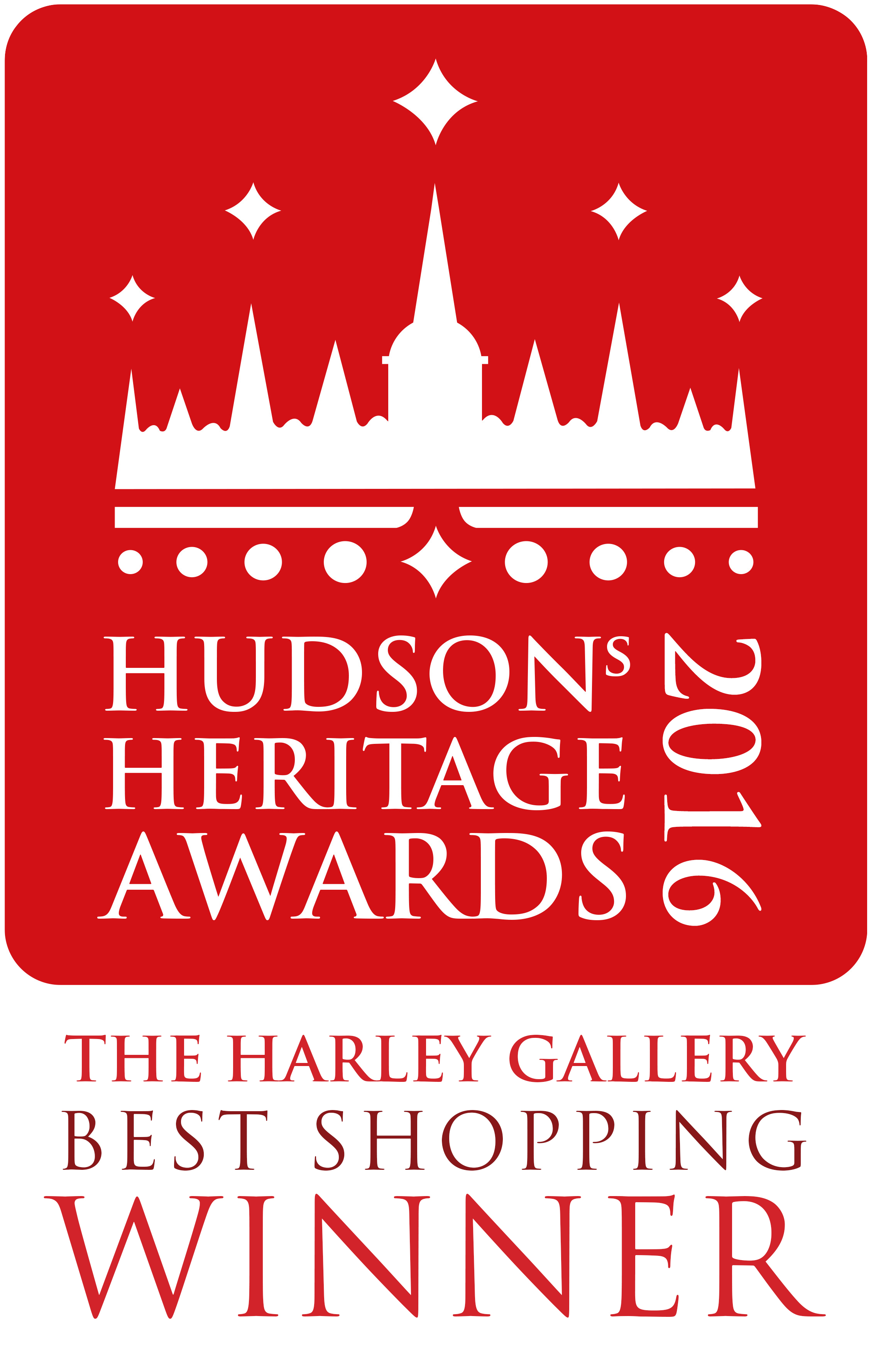 Hudson's Heritage Awards - Harley Gallery Best Shopping Winner Logo