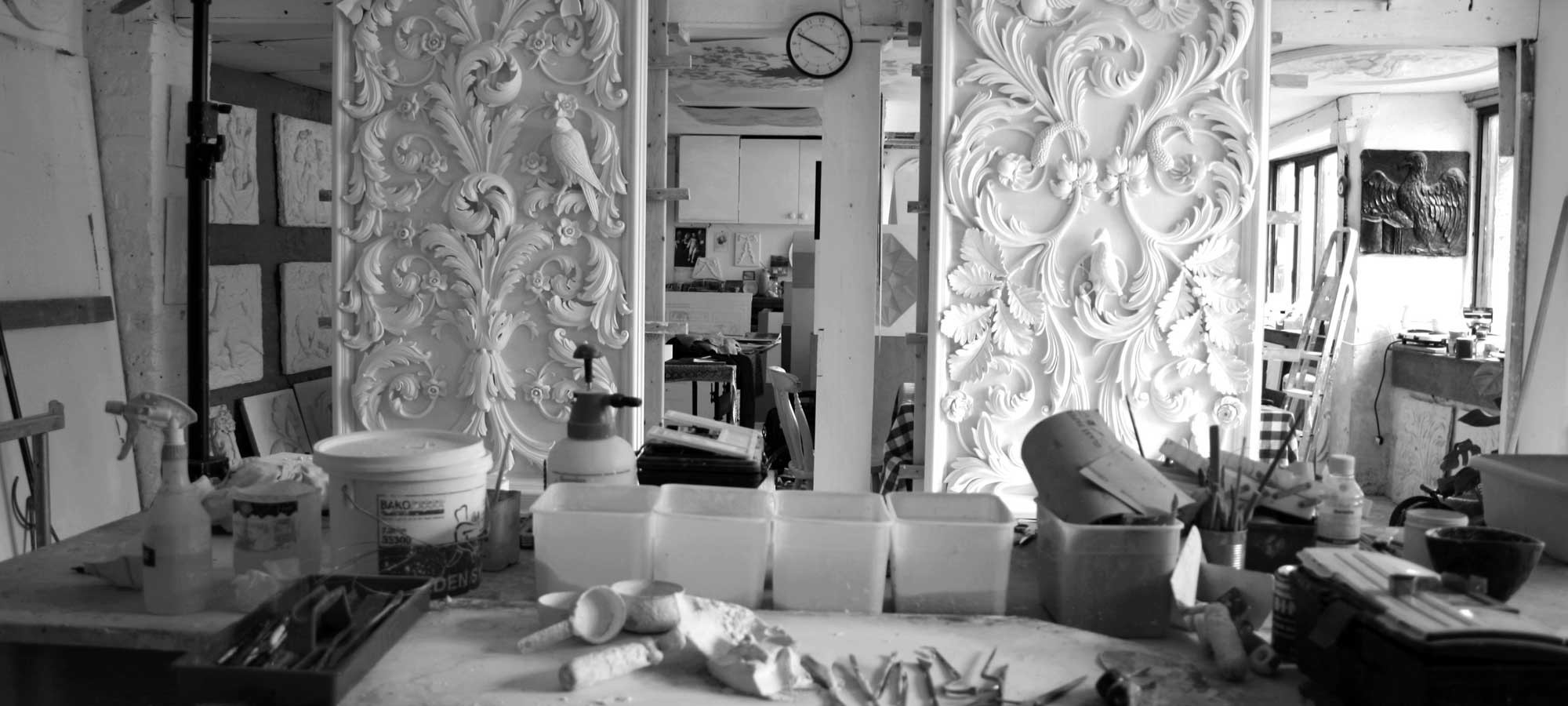 A Symphony of Curves: Geoffrey Preston – A Tradition in Plaster