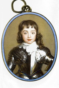 The Portland Collection, Miniature Portrait, Charles, Prince of Wales