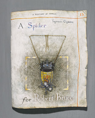 A Spider for Robert the Bruce. Photo Clarissa Bruce.
