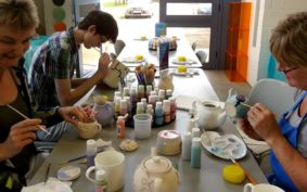 Weekly Paint a Pot Workshops – Thursdays