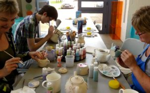 Weekly Paint a Pot Workshops - Thursdays