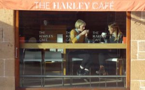 The Harley Cafe, Lunch time menu