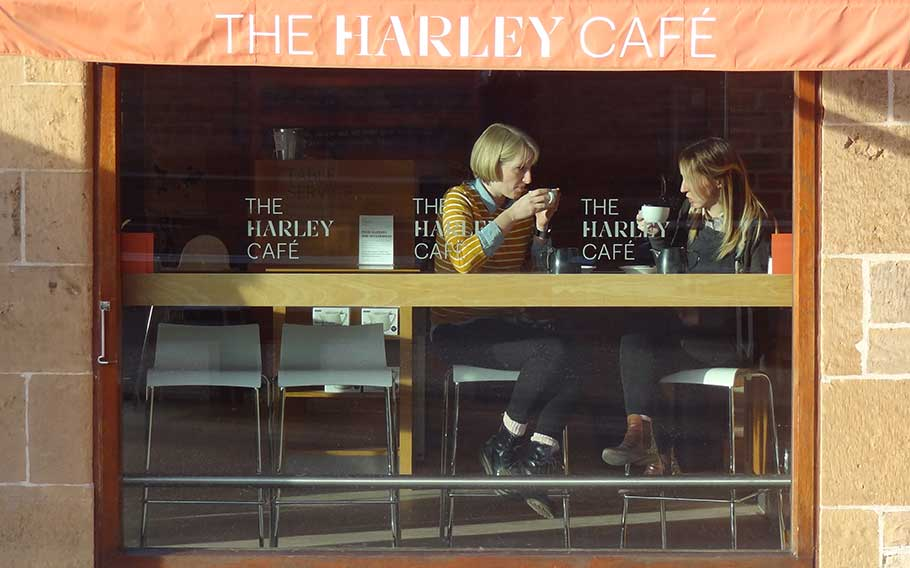 The Harley Café