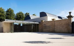 Architecture of The Harley Foundation - Exterior shot of the gallery for The Portland Collection