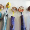 Figures made in a children's activity session