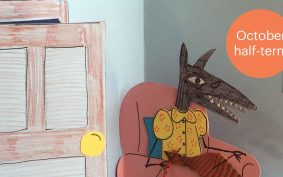 Pop-out books with Ruth Waller