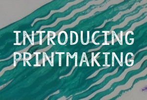 Art projects for schools - Introducing printmaking
