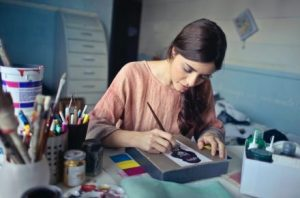 Events - Young adult painting