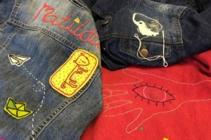 Makers Club - Embroidered Tattoos and Patches