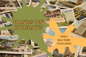 Hands on Holidays // I Wish I Was There Postcards